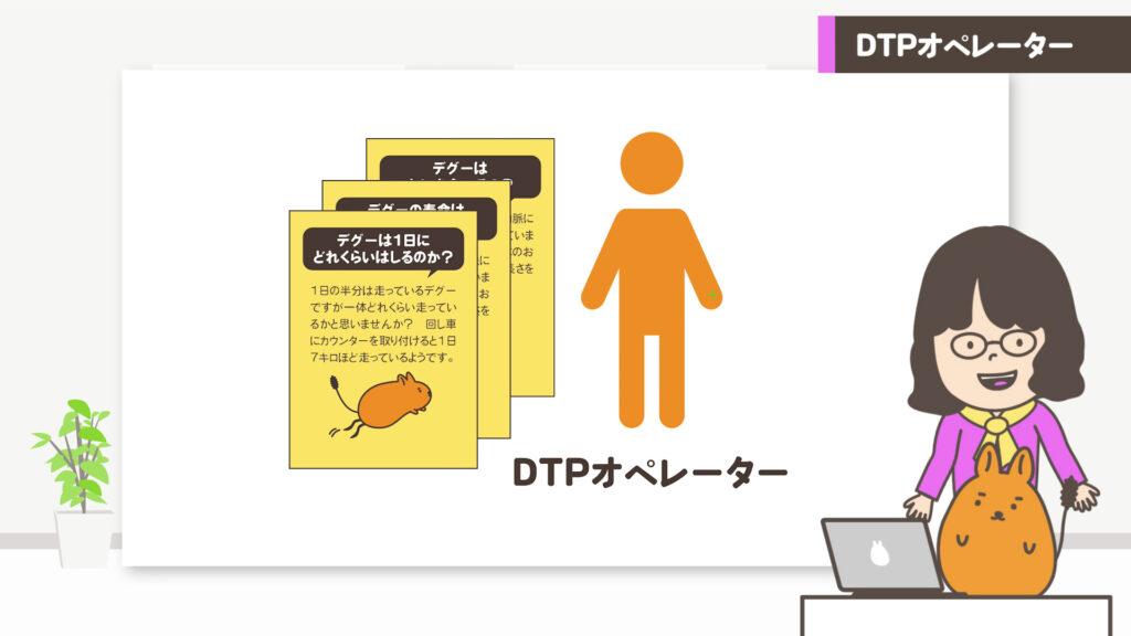 DTPオペレーターイメージ図